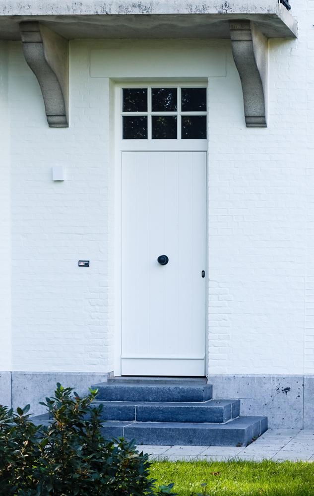 Lauryssen fam De Backer te Zandhoven HOUT CLASSO 68mm N910 wit deur (13)